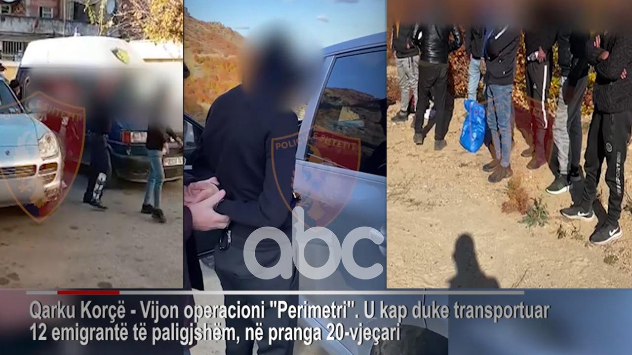 Makinën plot, policia i prish planin 20-vjeçarit në Korçë