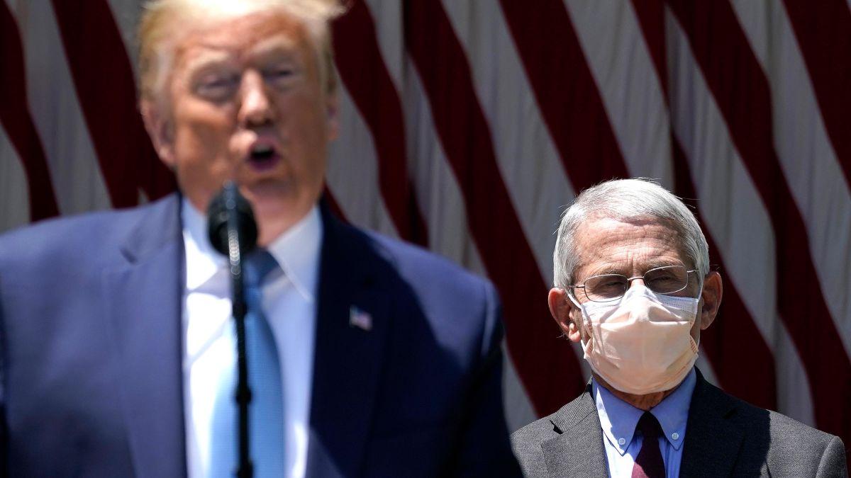 """Trump """"kërcënon"""" të pushojë nga puna Anthony Fauci-in"""
