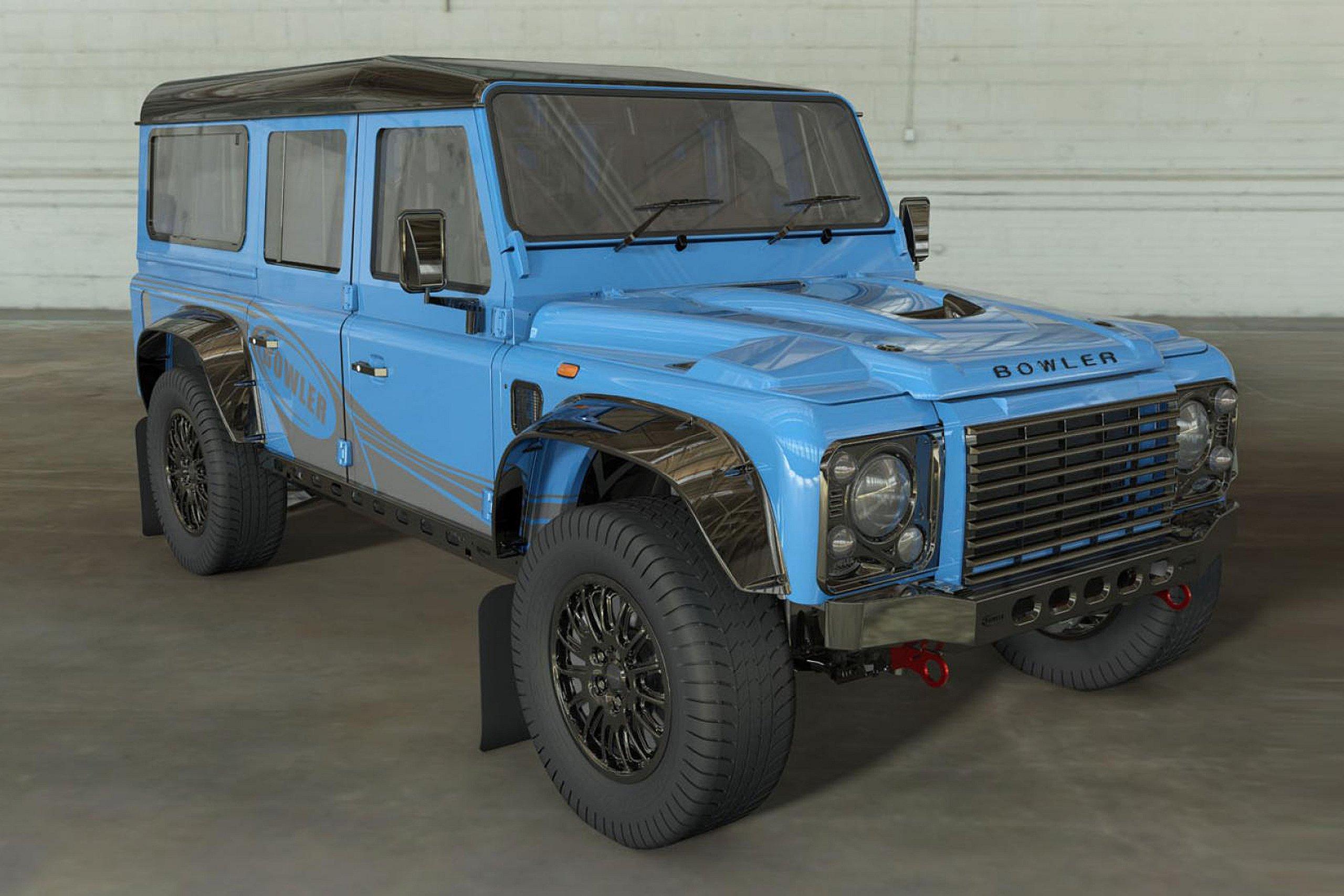 "Bowler ""ringjall"" Land Rover Defender 110"