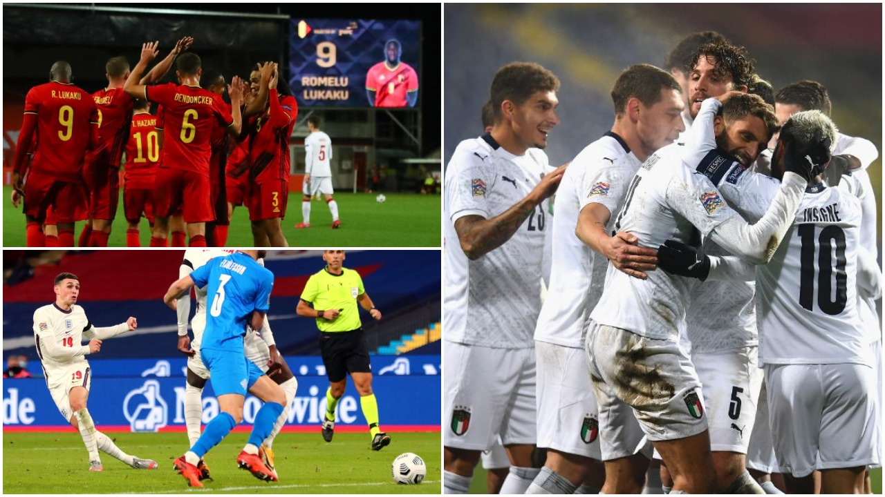 VIDEO/ Italia dhe Belgjika e mbyllin në krye, kur luhen sfidat gjysmëfinale