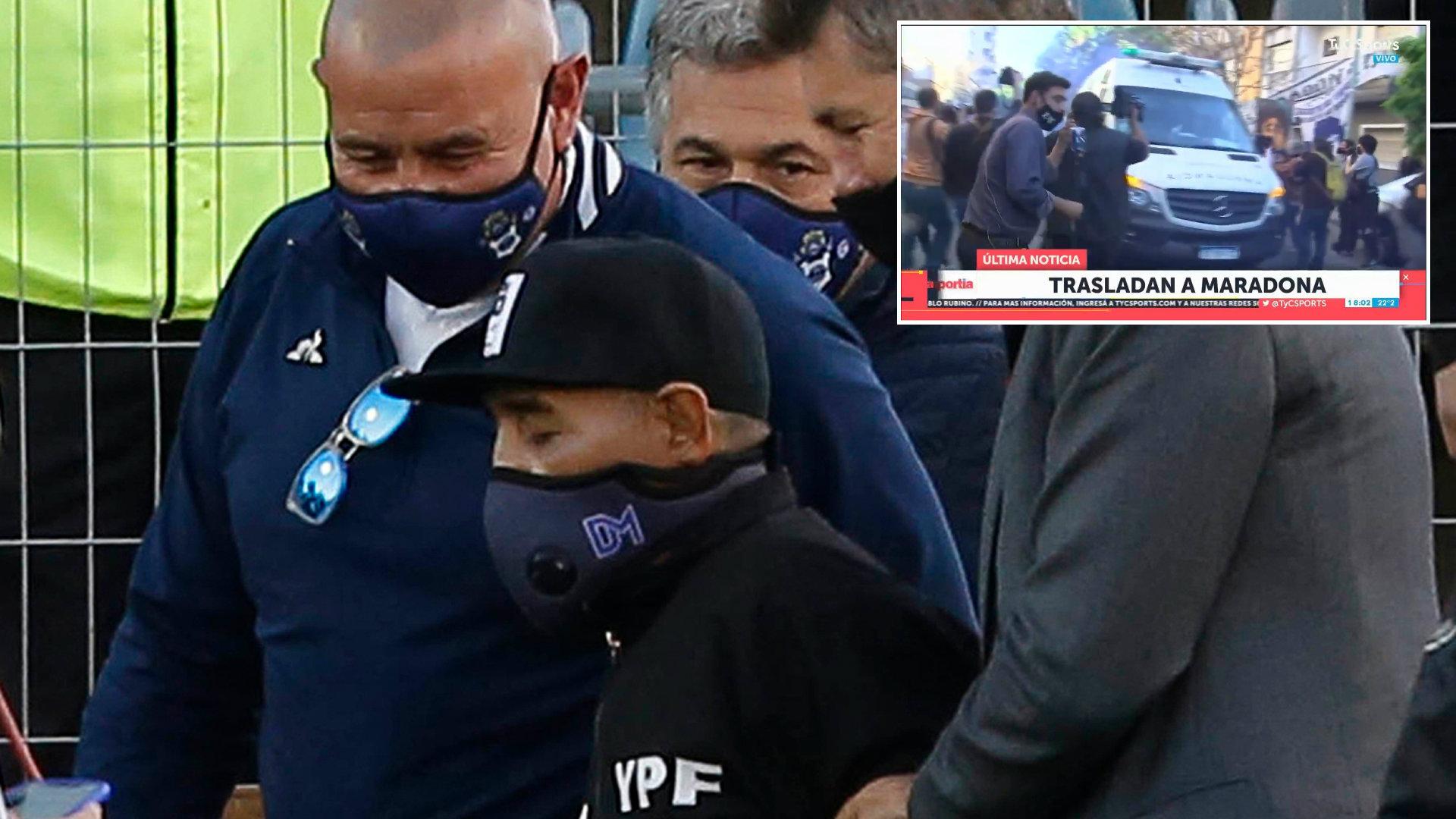 VIDEO/ Tifozët e përcollën me brohoritje, operohet Diego Maradona