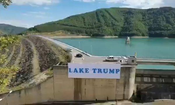 """Çfarë do të ndodhë tani në Kosovë me emrin e """"Liqenit Trump""""? Serbët hedhin hapin e parë"""
