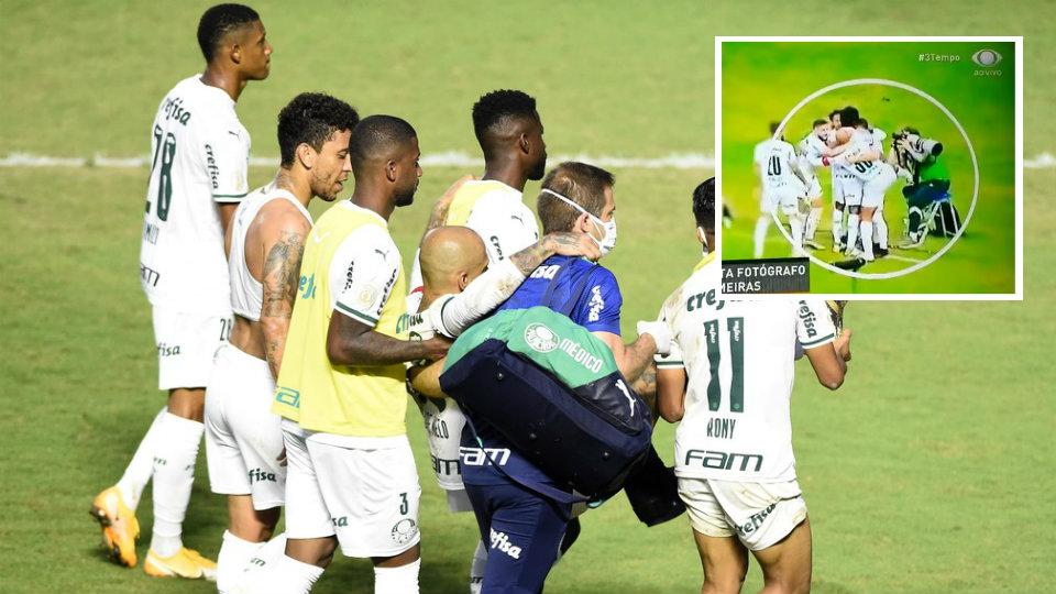 VIDEO/ I pandreqshmi Felipe Melo, bën gjest të turpshëm në festën e golit