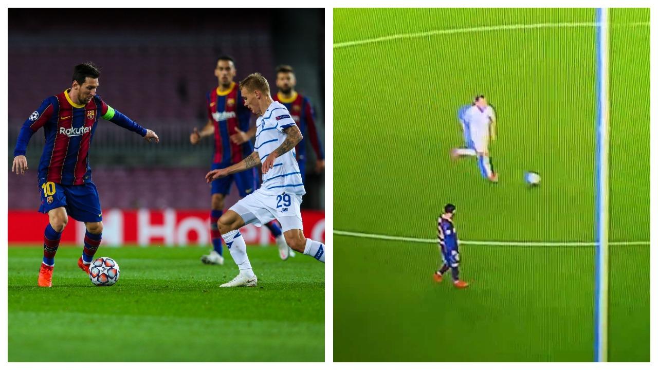 VIDEO/ Zero presion ndaj kundërshtarit, Messi 'harron' të vrapojë