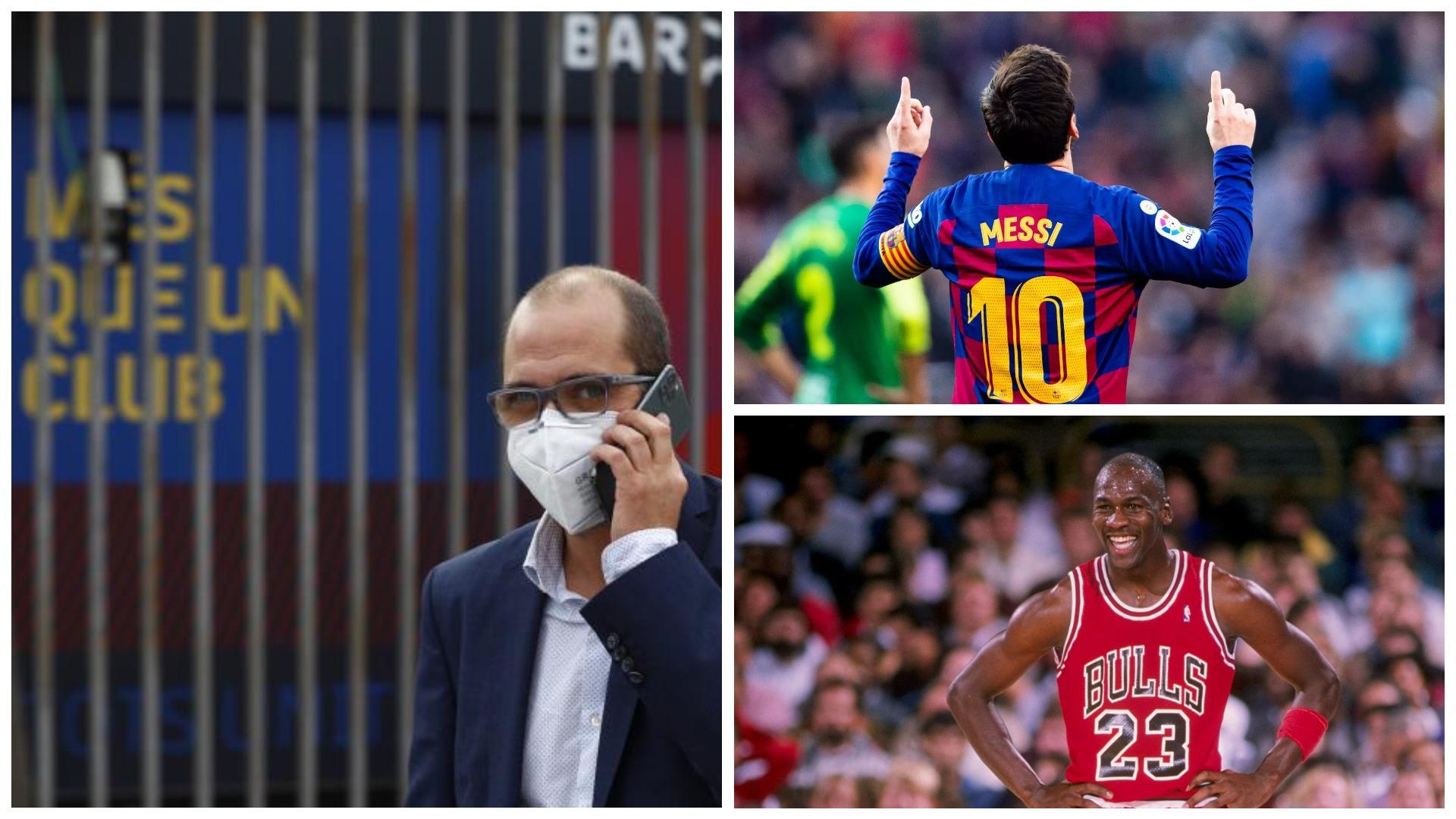 """""""Messi si Jordan"""", kandidati për president te Barcelona ka një plan"""