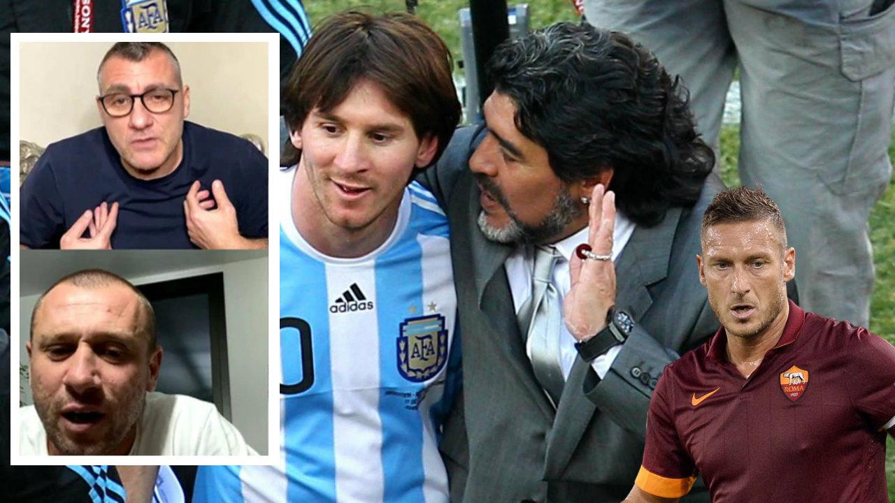 """""""Messi më lart se Maradona, largimi i Suarez i pakuptimtë! Totti? E bëri në brekë nga COVID-i"""""""