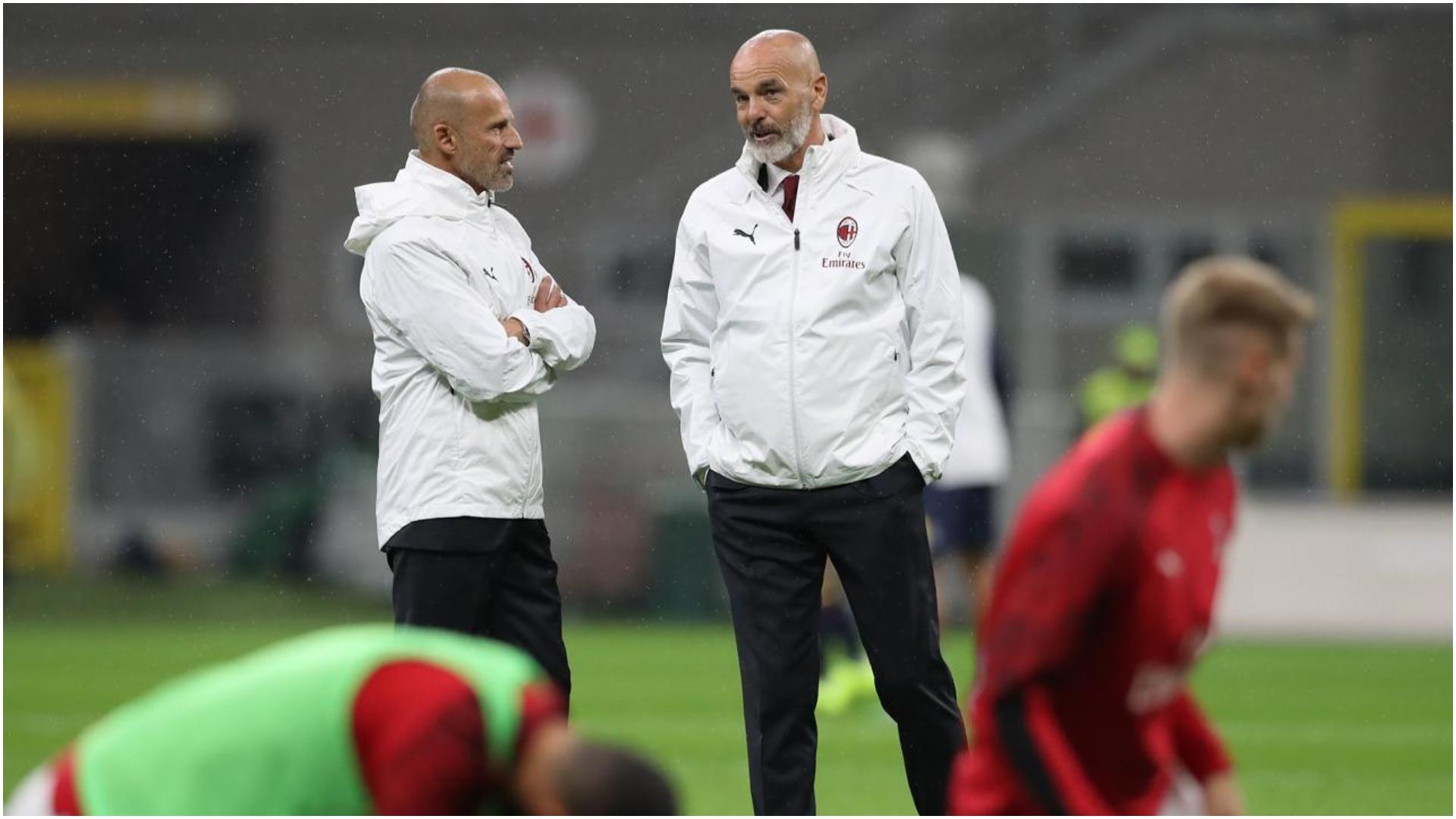 Milan pa trajner ndaj Napolit, infektohet edhe ndihmësi i Piolit