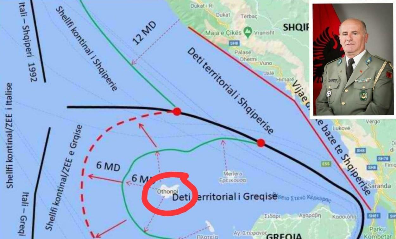 Gjenerali shqiptar jep alarmin: S'duhet lejuar ushtria greke në ishullin përballë Shqipërisë
