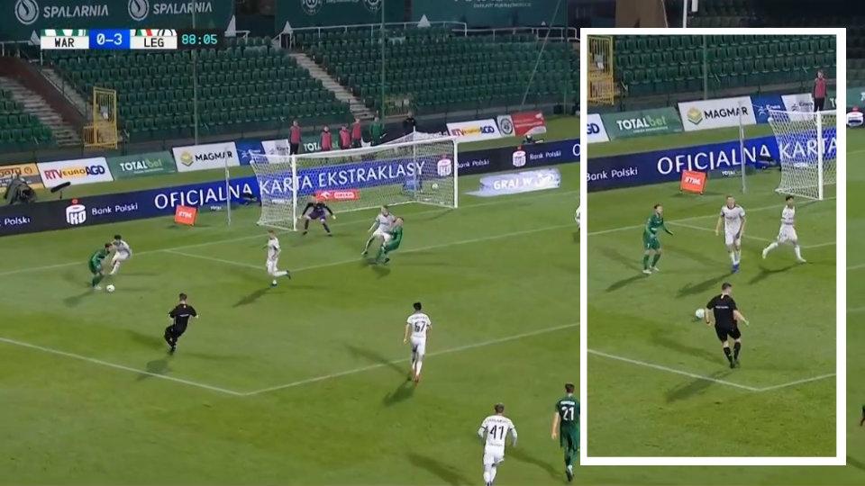 VIDEO/ Gallatë nga Polonia, kur arbitrin e bëjnë me zor lojtarin e 12-të