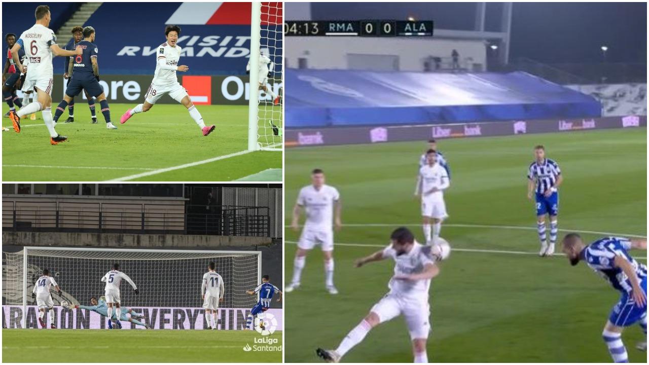 VIDEO/ Penallti e dyshimtë dhe autogol, befasohen Real Madrid dhe PSG