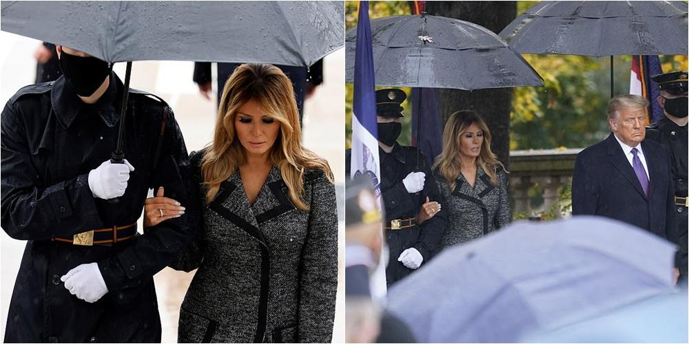 """Pas amerikanëve, Trump-in e """"braktis"""" edhe Melania"""