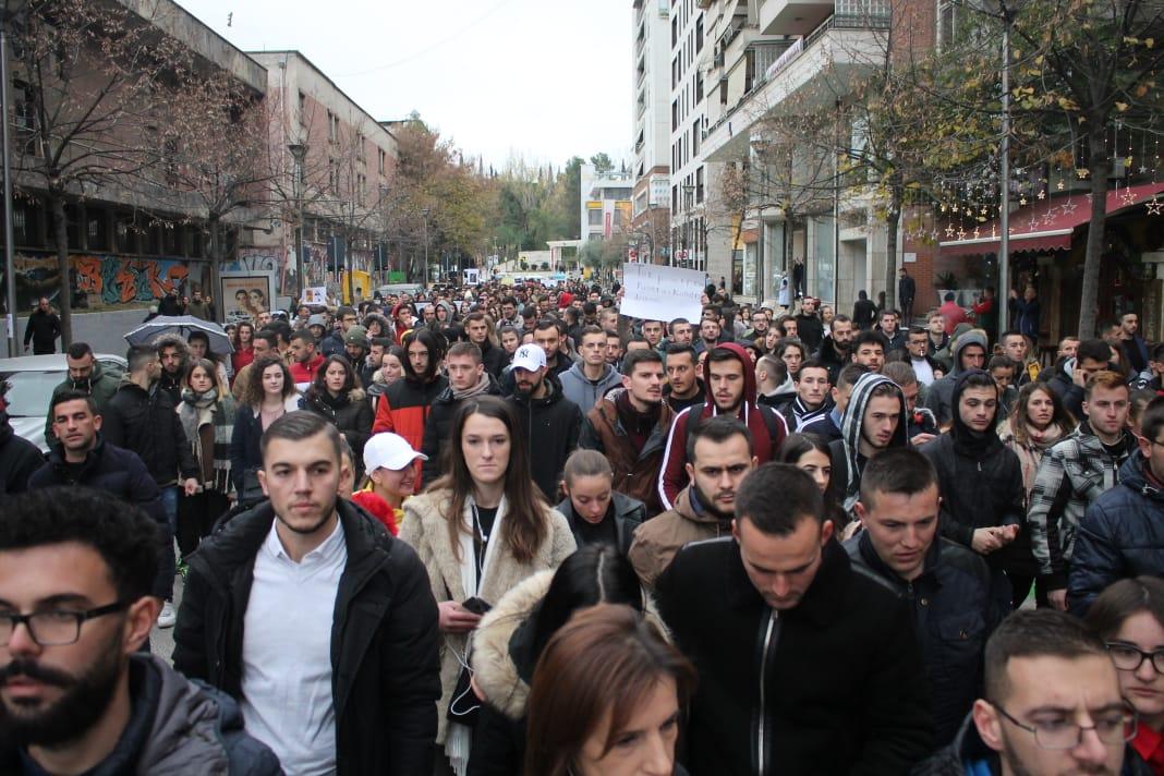 Nesër studentët protestë para Ministrisë së Arsimit dhe Shëndetësisë