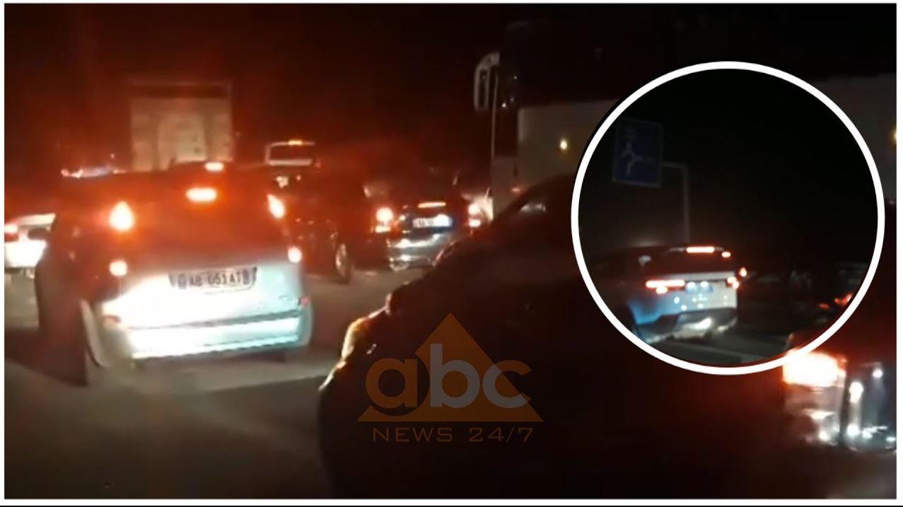 VIDEO/ Trafik i rënduar në aksin Thumanë -Fushë Krujë
