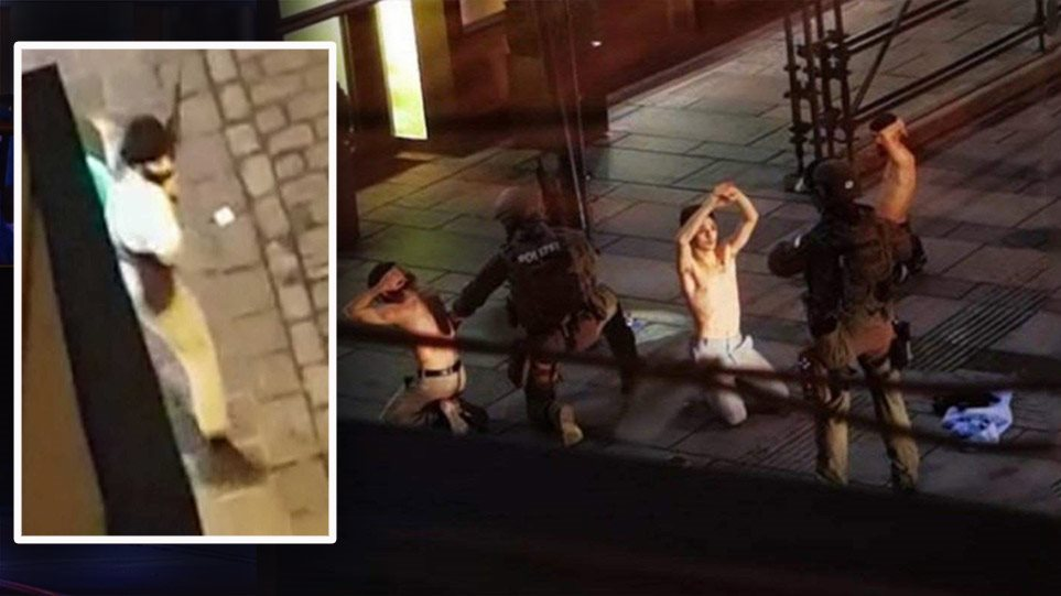 """""""Miqtë u bllokuan në restorant""""! Greku rrëfen tmerrin nga terrori:  Vjena e rrethuar nga snajpera"""