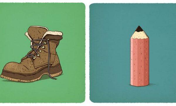 A e dini se çfarë kanë të përbashkët një këpucë dhe një laps?
