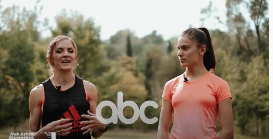 Jo vetëm një model frymëzimi, kampionia 16-vjeçare në atletikë zbulon lidhjen me Luiza Gegën