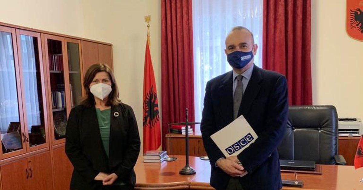 Kreu i OSBE takon kryetaren e GJK, Vitore Tushën, zbulohet se çfarë u diskutua mes tyre