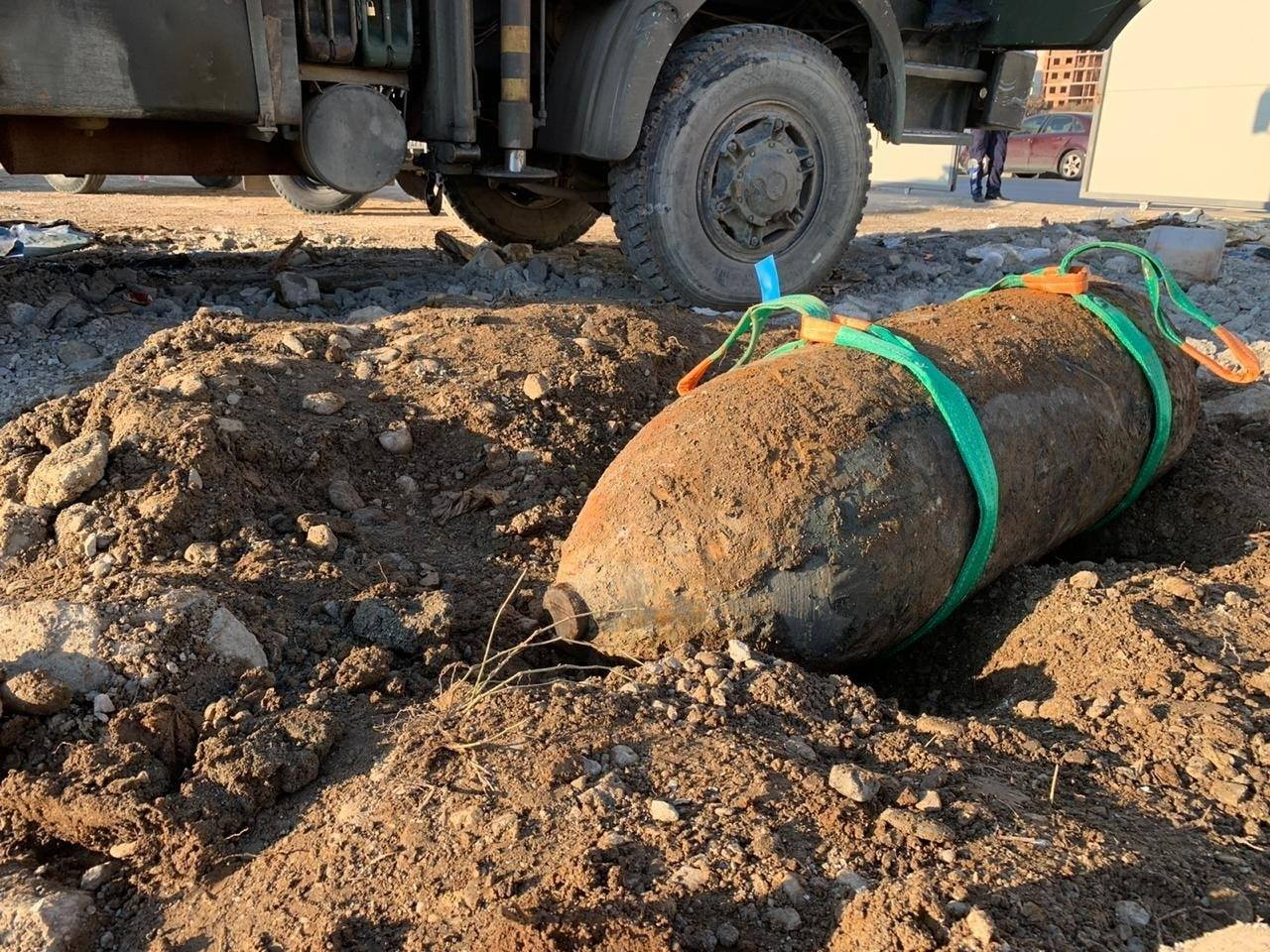 Gjendet në ish-fushën e Aviacionit, bomba me peshë 500 kg nga Lufta e Dytë Botërore