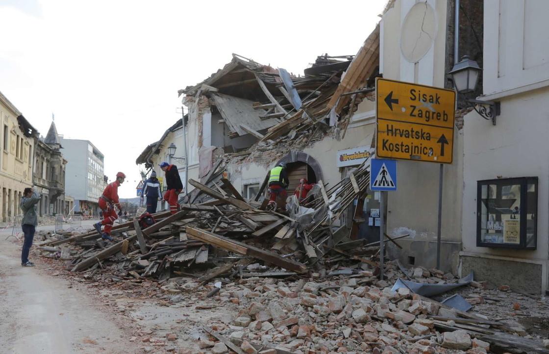 """Kroacia """" e gjunjëzuar"""" nga tërmeti i fuqishëm, 6 viktima dhe ndërtesa të shkatërruara"""