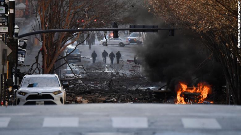 Shpërthimi i fuqishëm në Nashville, policia: Ishte akt i qëllimshëm