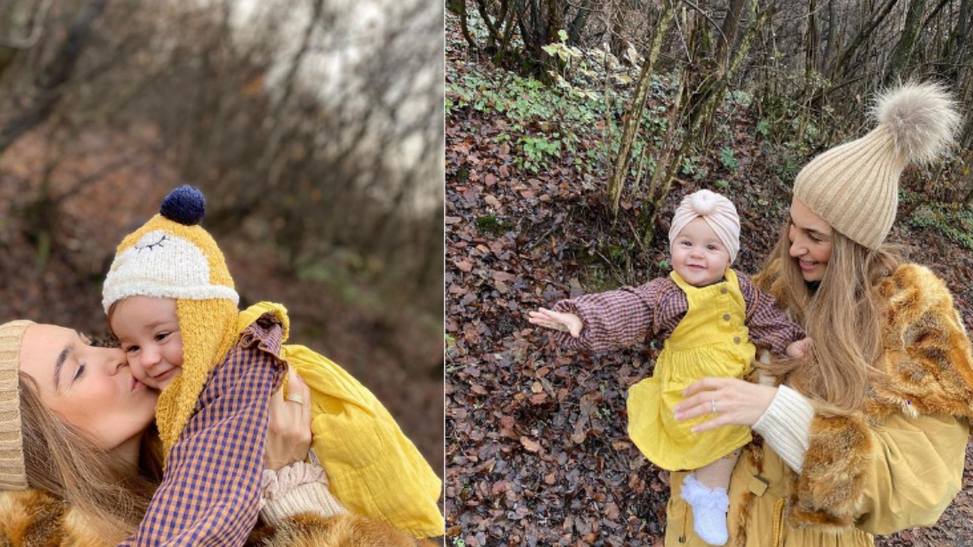 Në 10-mujorin e së bijës, këngëtarja e njohur shqiptare publikon fotot e ëmbla