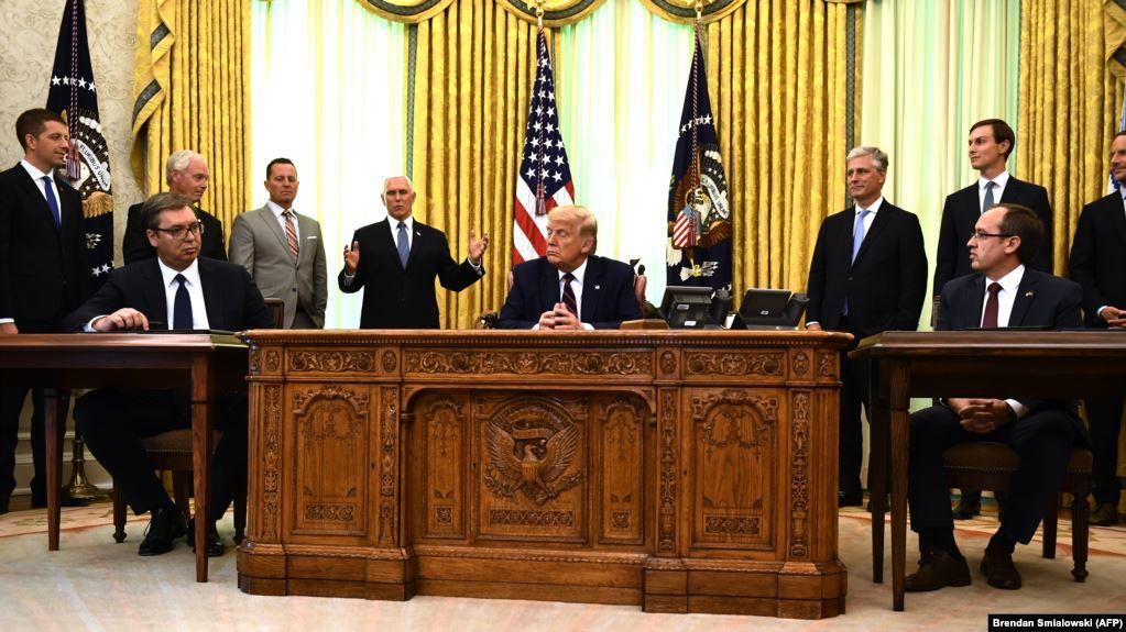 Kosova merr garanci nga SHBA-ja se marrëveshja e 4 shtatorit do të zbatohet