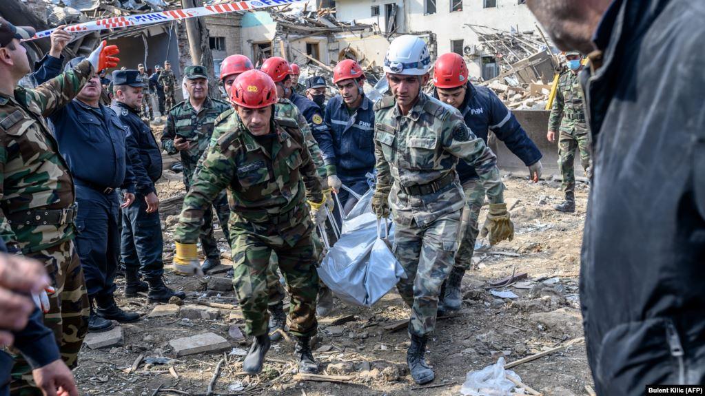 Azerbajxhani publikon numrin e ushtarëve të vrarë gjatë luftimeve për Nagorno-Karabakun
