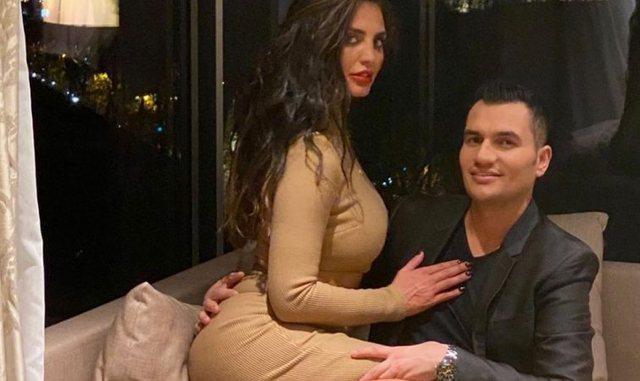 FOTO/ Partneri turk i bën Genta Ismajlit surprizën romantike dhe një dedikim shqip