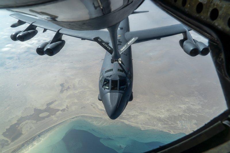 Dy bombardues amerikan kanë fluturuar mbi Gjirin Persik