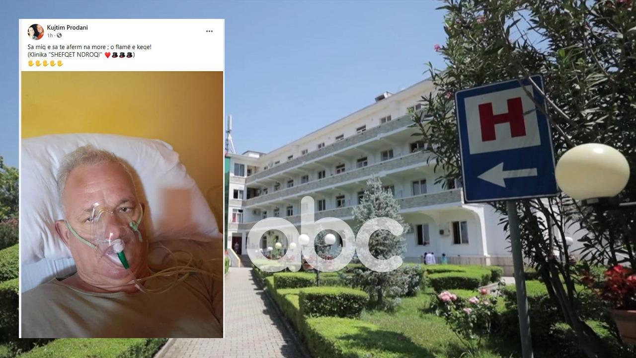 Infektohet me koronavirus këngëtari i njohur: Nxjerr foton me maskë oksigjeni nga spitali