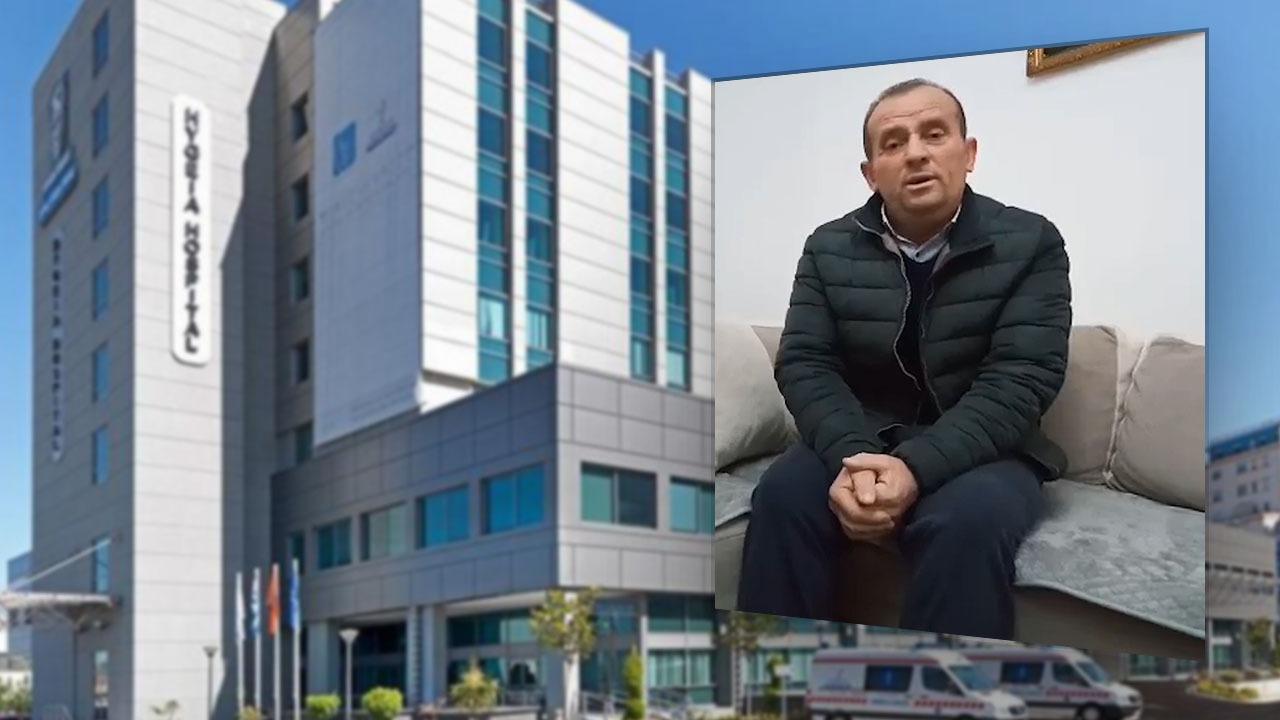 """I shpëtoi kancerit, 55-vjeçari falenderon publikisht stafin e spitalit """"Hygeia"""""""