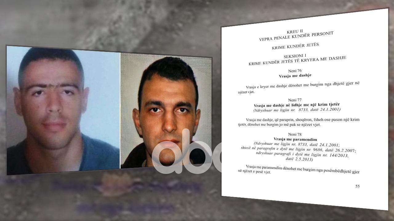 Gati ndryshimi i akuzës, sa vite burg rrezikon polici që vrau Klodian Rashën