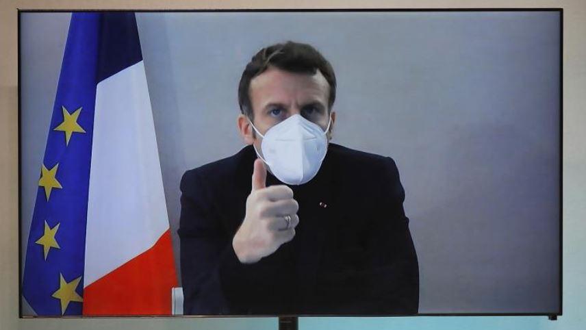 Macron del nga karantina pa asnjë simptomë të Covid-19