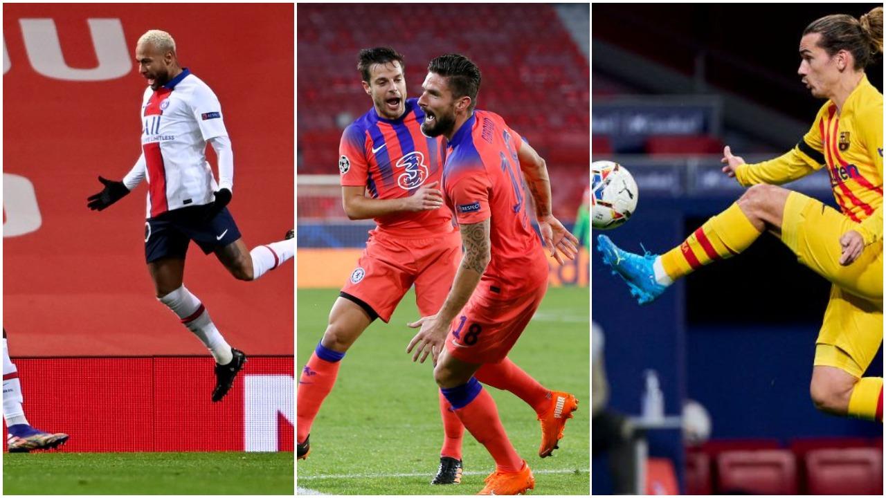 VIDEO/ PSG dhe Chelsea në avantazh, Griezmann realizon eurogol në Hungari