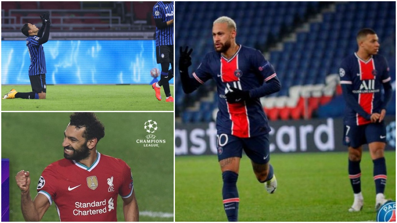VIDEO/ PSG në krye falë Neymar-Mbappe, Atalanta mposht Ajax dhe kualifikohet