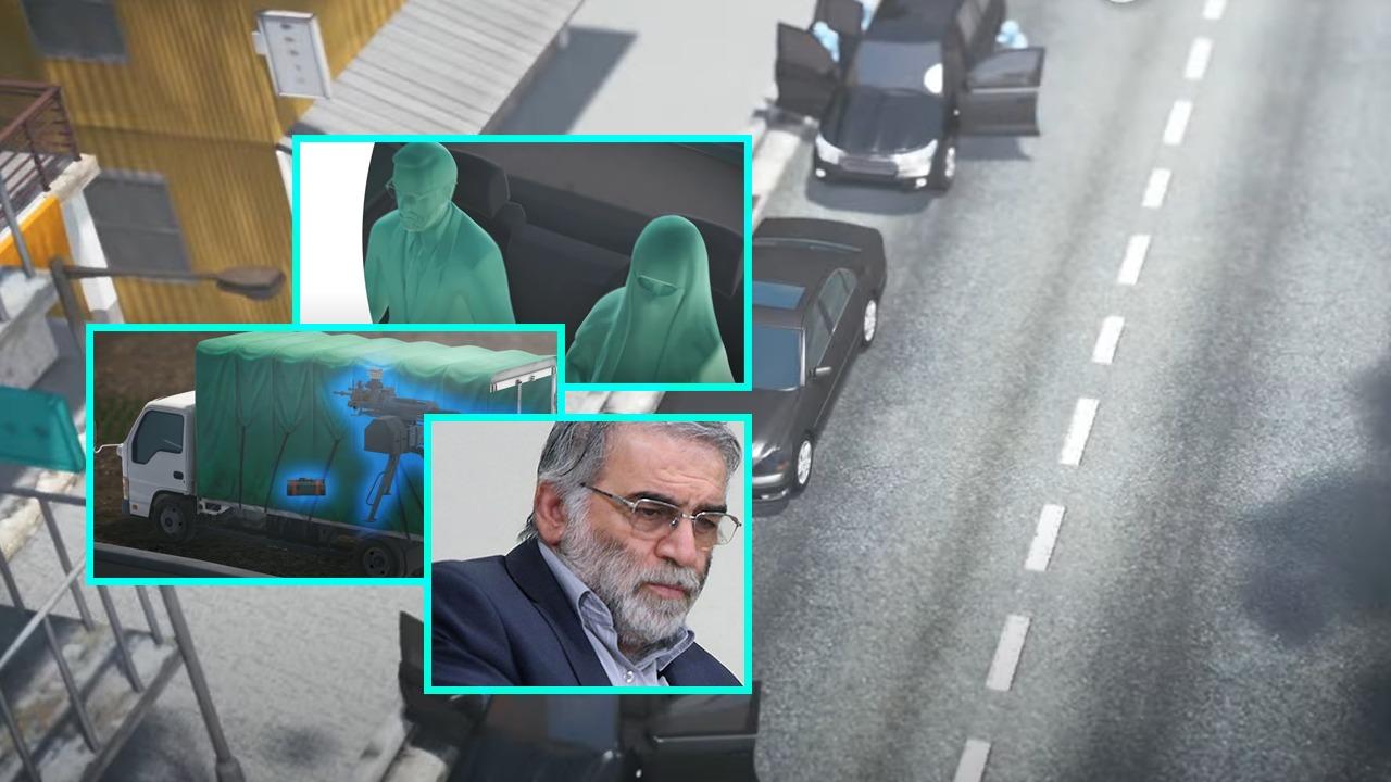 """Skema 3D, si u ekzekutua me mitraloz të telekomanduar """"babai"""" i bombës iraniane"""