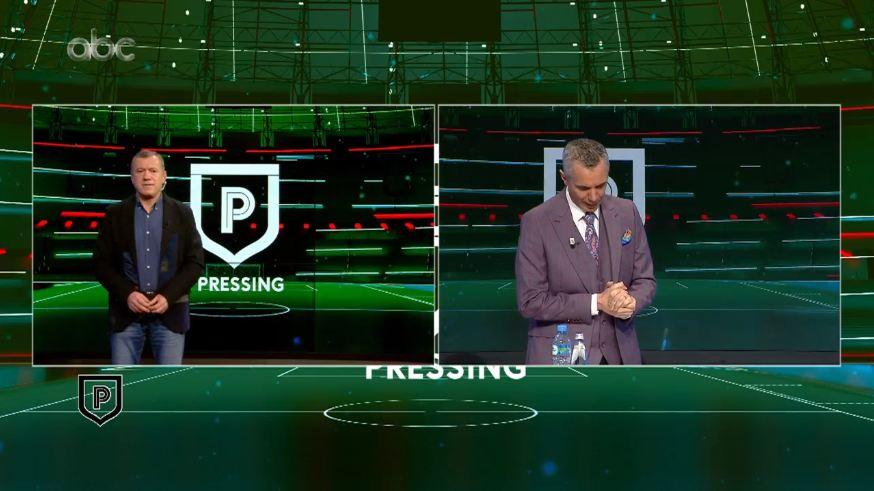 """VIDEO/ Sa penallti në Superiore, Bujar Pregja bën moviolën në """"Pressing"""""""