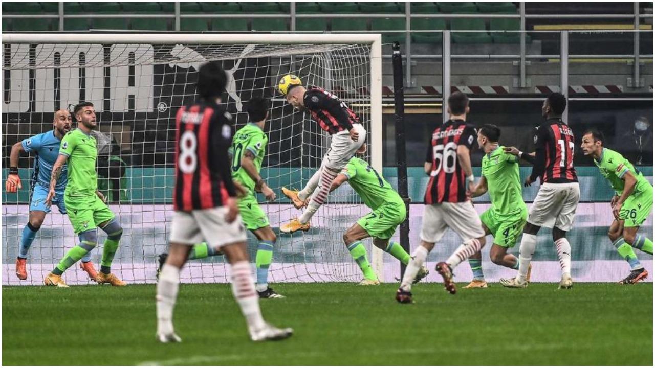 """VIDEO/ Milani e nis """"zjarr"""", ndëshkon Lazion dy herë brenda 5 minutave"""
