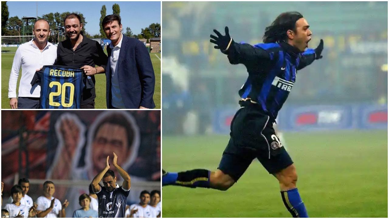 """Zyrtare/ Rikthehet Alvaro Recoba, """"El Chino"""" sërish pjesë e futbollit"""