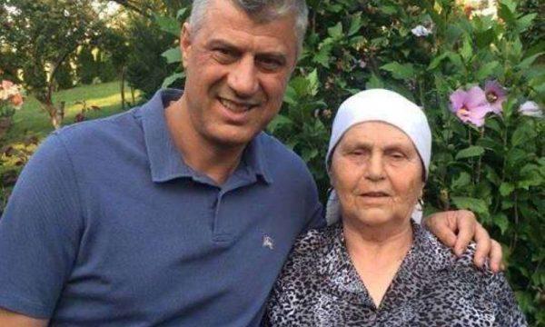 E sëmurë me Covid, nëna e Hashim Thaçit po trajtohet me oksigjen në spital