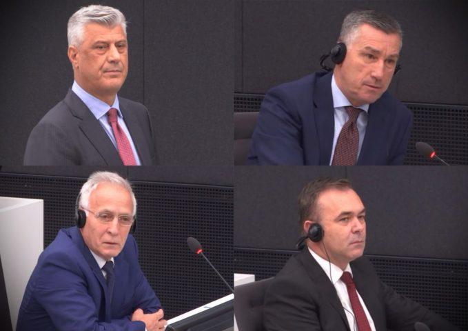 Gjykata Speciale sot zhvillon seancë për Thaçin, Veselin, Selimin e Krasniqin