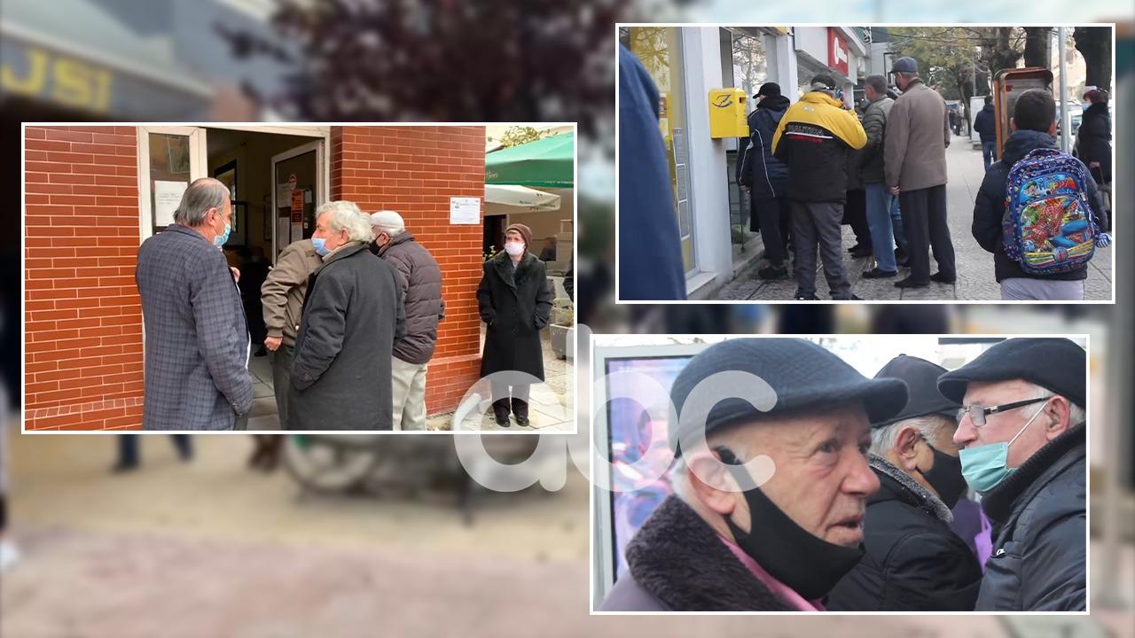Shpërndarja e shpërblimit, grumbullime pensionistësh në Fier dhe Gjirokastër