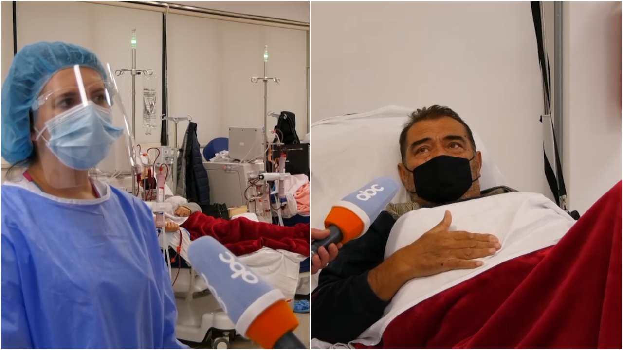 Spitali Amerikan pavion bashkëkohor për dializën në Gjirokastër, pacienti: Kushtet janë fantastike