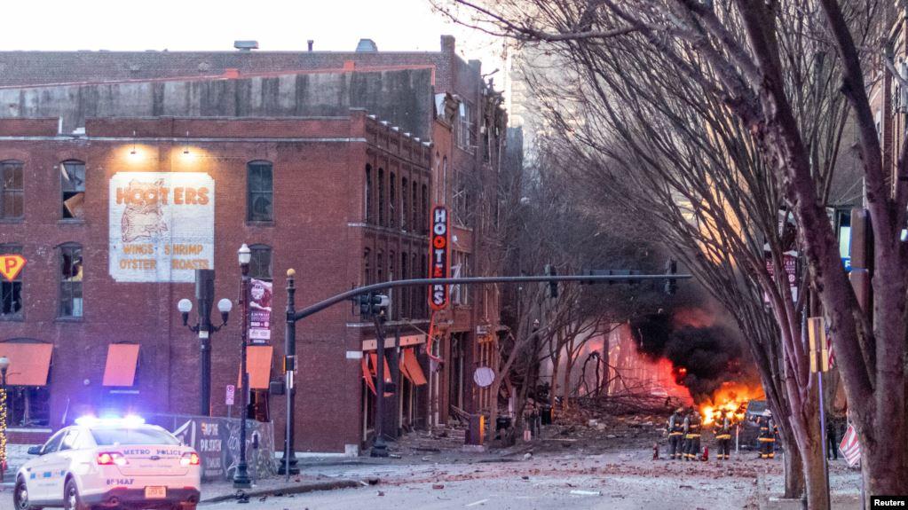 Policia në SHBA identifikon personin që shpërtheu bombën në Nashville