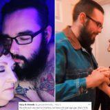 23-vjeçari që u dashurua me 76-vjeçaren në varrimin e djalit të saj, 'pushton' TikTok me videot pasionante