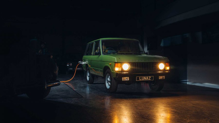 Risia më e fundit, Range Rover klasik bëhet me motor elektrik