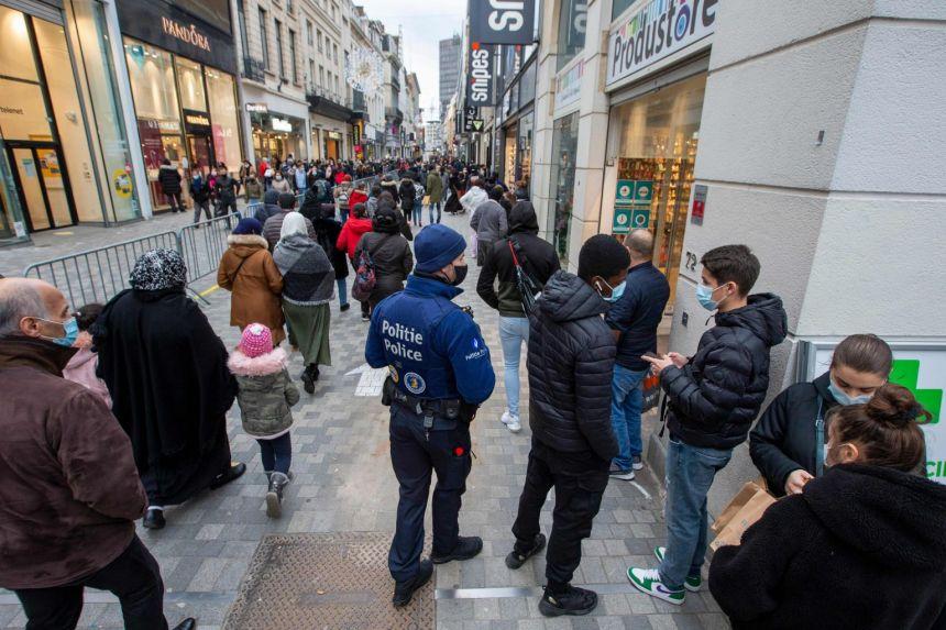 Varianti i ri i koronavirusit, Belgjika identifikon 4 raste