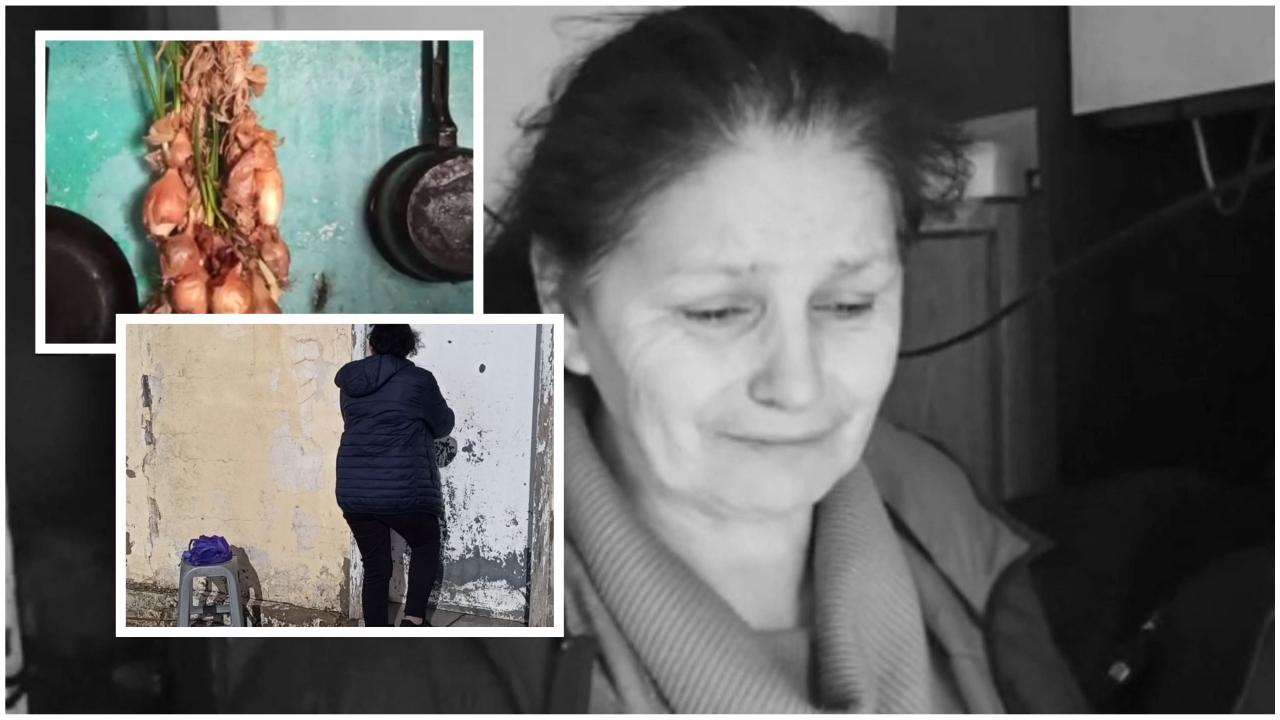 Festat e penguara nga varfëria: Familja Kola pa tryezën e Vitit të Ri, tërmeti u shembi shtëpinë