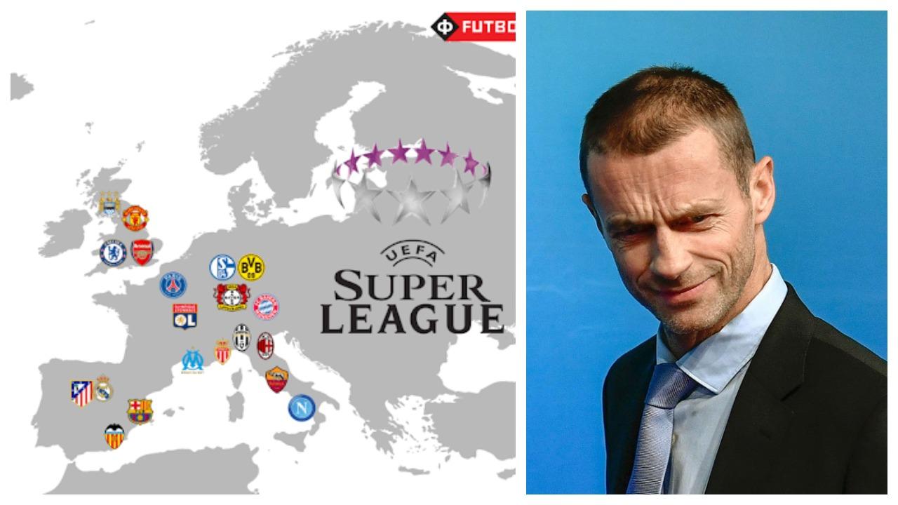 Super League, koronavirusi dhe formati i ri i Champions: Rrëfehet Ceferin