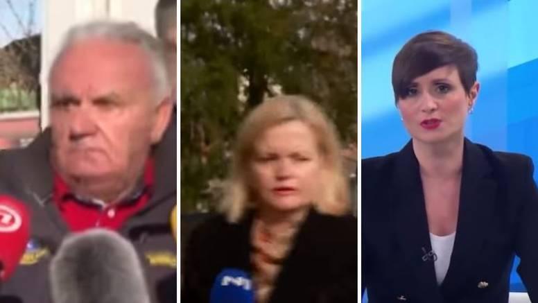 Dridhjet e forta të tokës në Kroaci, kamerat e televizionit filmojnë gjithçka live
